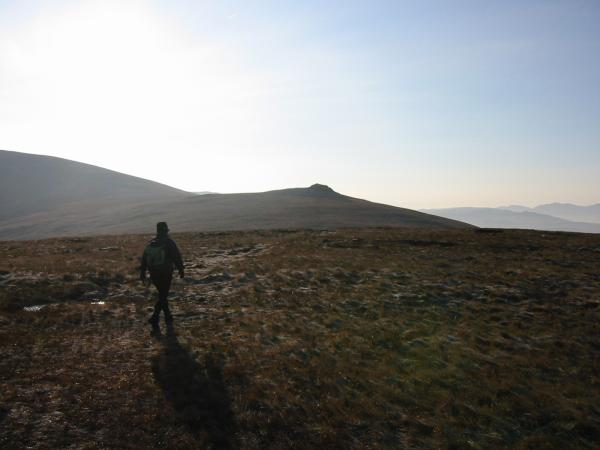 Heading to Calfhow Pike from Clough Head