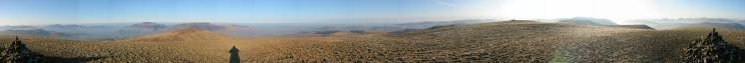 360 Panorama from Great Dodd's summit
