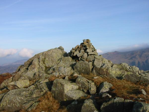 Sergeant's Crag summit