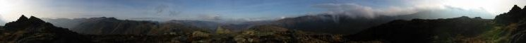 360 Panorama from Sergeant's Crag summit