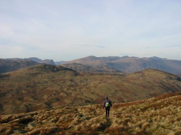 Descending back into Greenup Gill