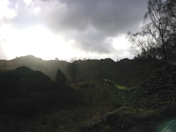 Holme Fell's northeast ridge