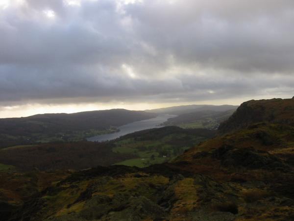 Coniston Water from Holme Fell