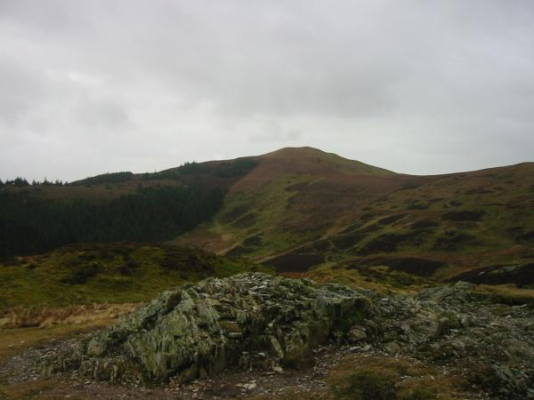 Lord's Seat from Barf summit