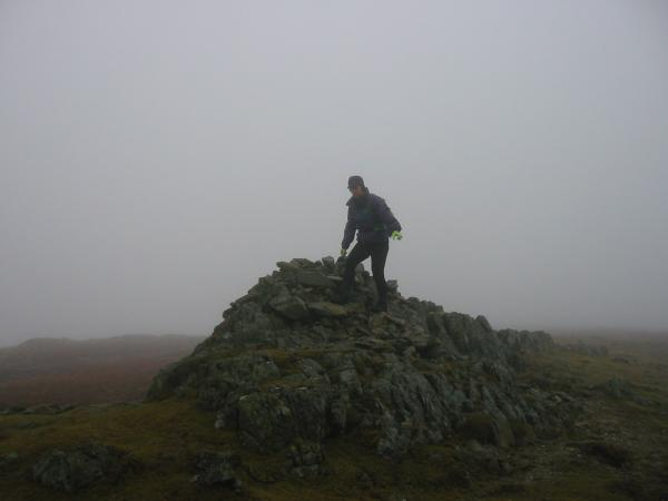 Yoke summit cairn