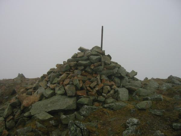 Froswick summit cairn