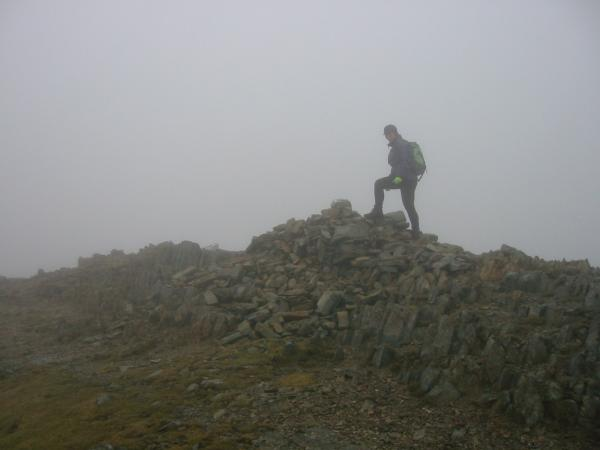 Mardale Ill Bell's summit cairn