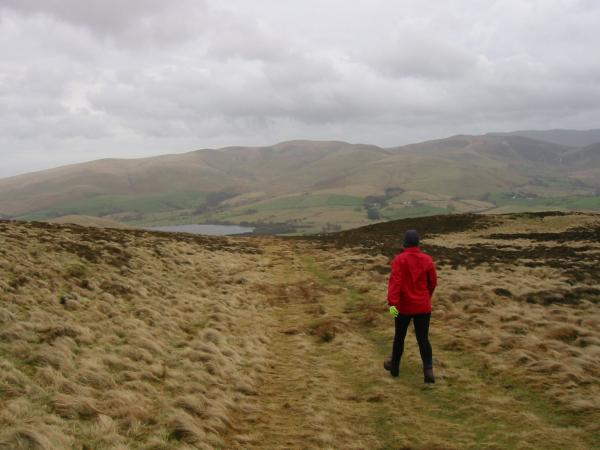 Descending back to Binsey Lodge