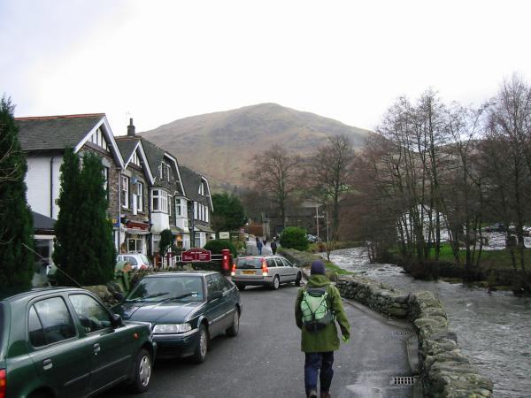 Leaving Glenridding village for Birkhouse Moor