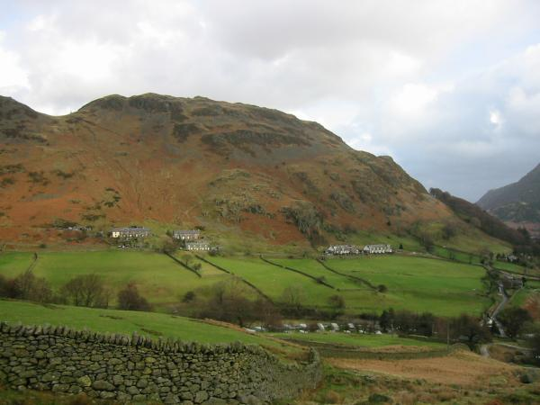 Glenridding Dodd from the path up Birkhouse Moor