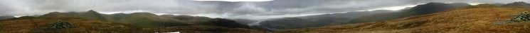 360 Panorama from Birkhouse Moor's north east top