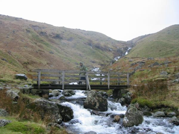Crossing Red Tarn Beck