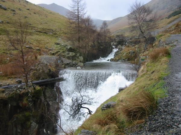 Weir at the Greenside Mines, Glenridding