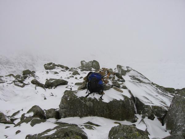 Rossett Pike summit