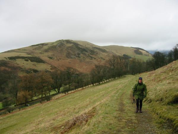 Heading up the Corpse Road, Ling Fell with Sale Fell behind