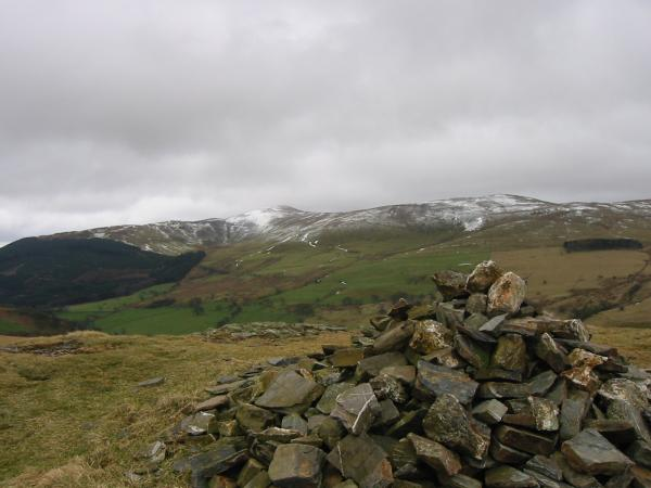 Lord's Seat and Broom Fell from Sale Fell's summit