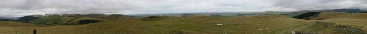 360 Panorama from Sale Fell summit