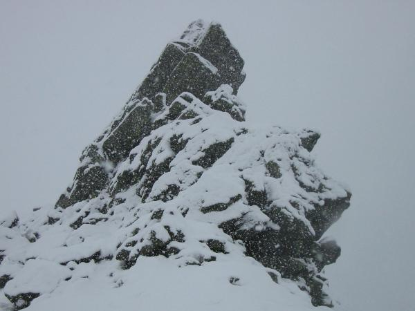 The Howitzer, Helm Crag summit