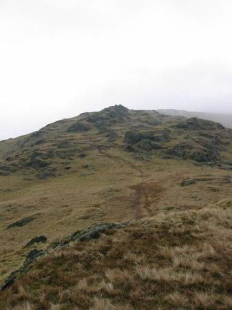 The ridge to Great Rigg from Stone Arthur