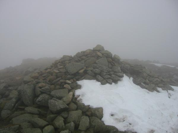 Great Rigg summit cairn