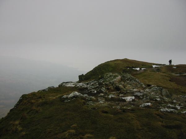 Heron Pike summit
