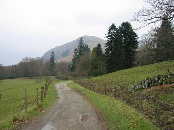 Nab Scar from Rydal Park