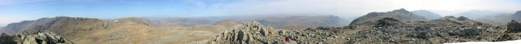360 Panorama from Esk Pike summit