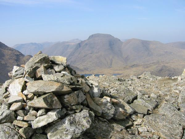 Great Gable from Allen Crags summit