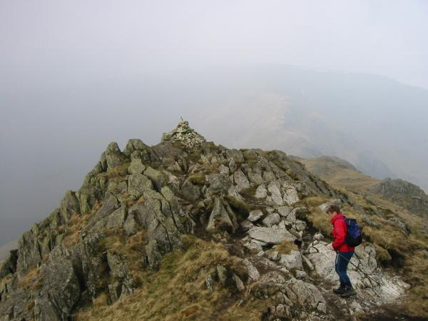 Rough Crag summit