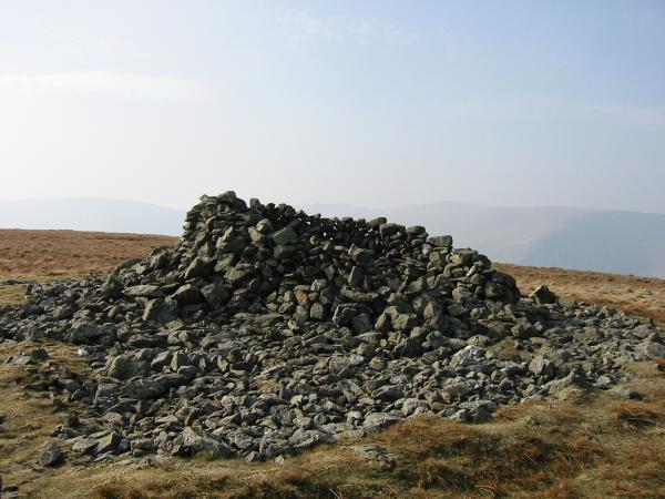 Selside Pike summit cairn