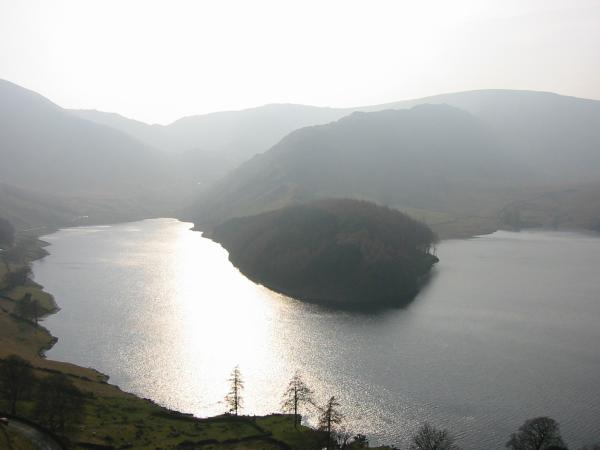 Haweswater, The Rigg and Rough Crag from the Old Corpse Road