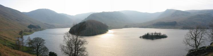 Mardale Head panorama