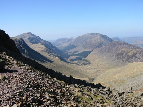 ...and west from Windy Gap - Ennerdale