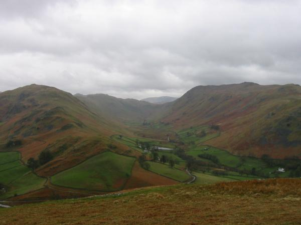 Beda Fell, Boredale and Place fell from Hallin Fell