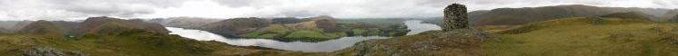 360 Panorama from Hallin Fell summit