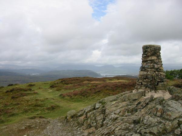Looking north from Gummer's How summit