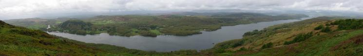 Windermere panorama from Gummer's How