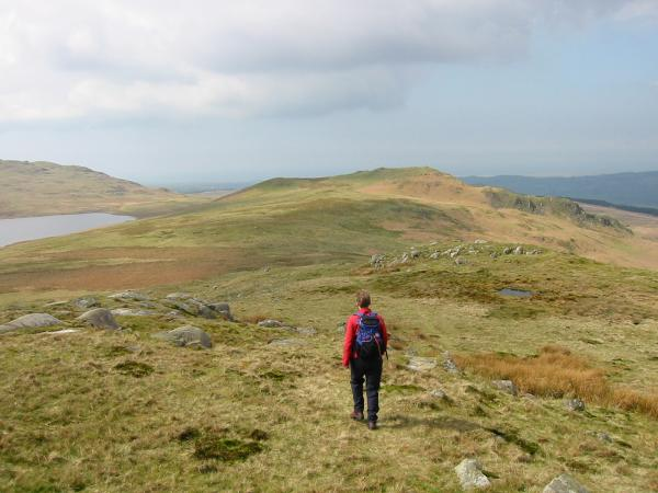 Heading to Water Crag from Rough Crag