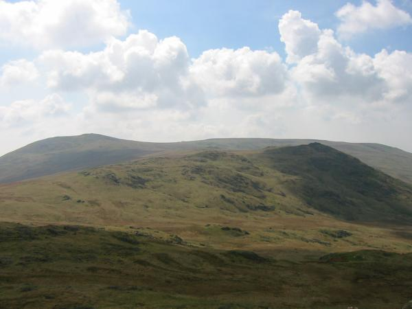 Whitfell and Stainton Pike from Yoadcastle