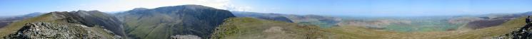 360 Panorama from Whiteside summit