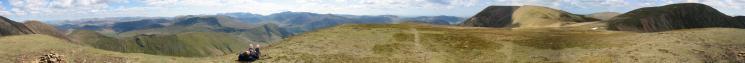 360 Panorama from Wandope summit