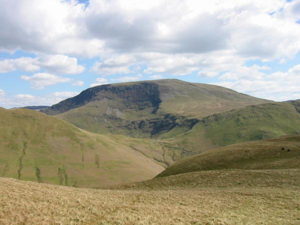 Robinson and Newlands Hause from Whiteless Pike