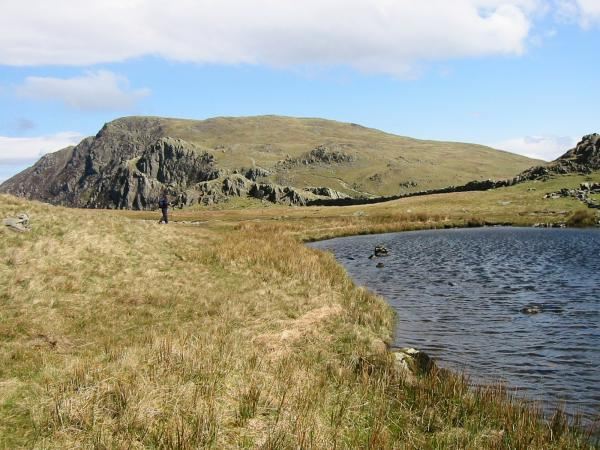 High Spy from Dalehead Tarn