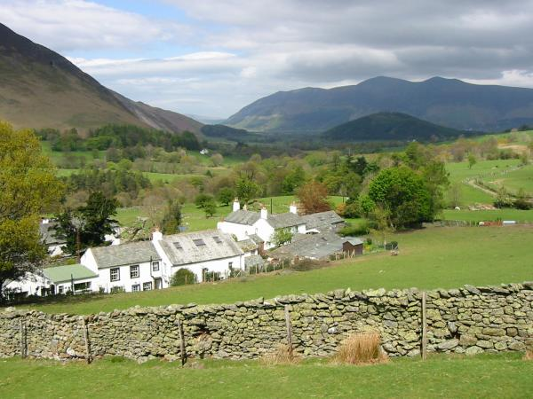 Skiddaw and Swinside from Little Town