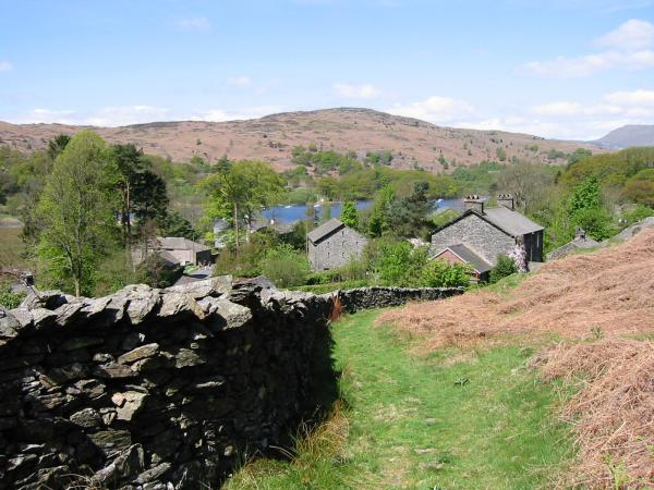 High Nibthwaite, Coniston Water and the Blawith Fells