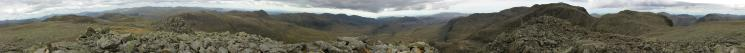 360 Panorama from Ill Crag summit