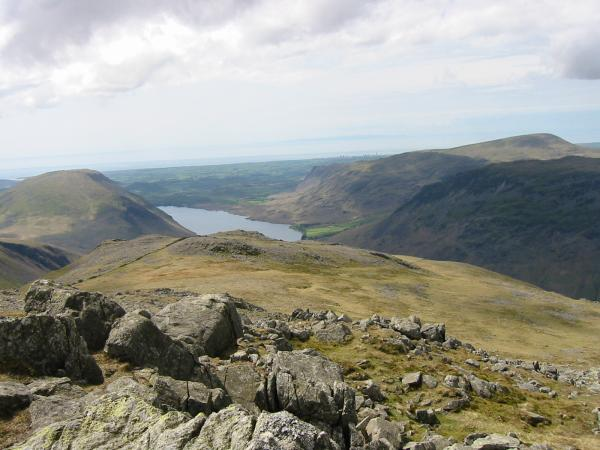 Wasdale from Lingmell summit