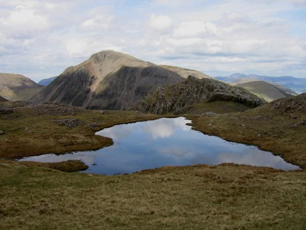 Great Gable from the Corridor Route
