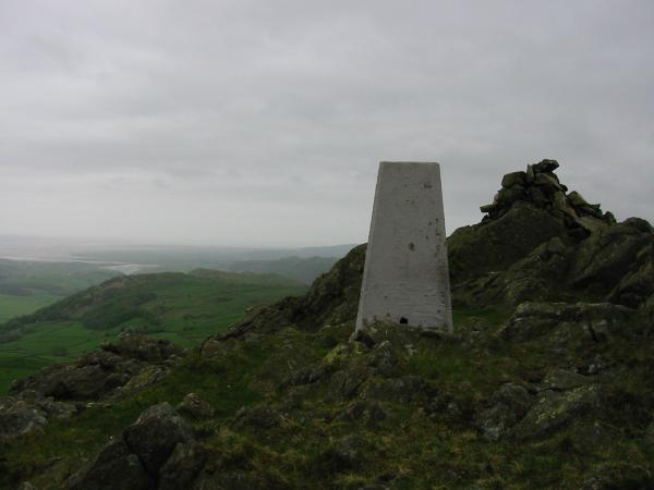 Duddon Sands in the distance from Great Stickle's summit
