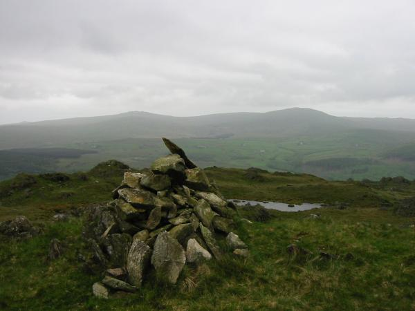 Buck Barrow and Whitfell from Tarn Hill summit